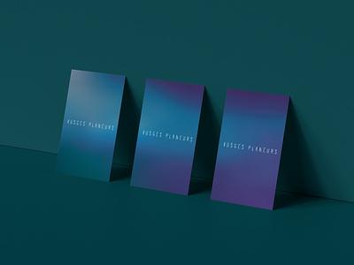 Vosges planeurs identity typography vector graphic design business card business card design brand identity logo branding design