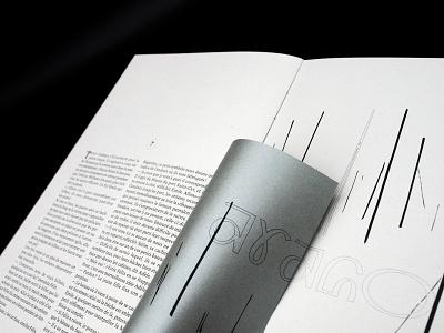 La main noire - Book design editorial art edition book art illustration typography book design layout editorial design design