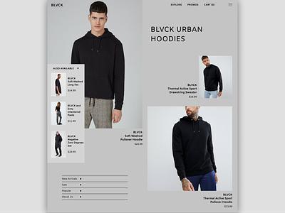 BLVCK/Web Design website design website concept website web designer web design web ux ui minimal developer designer design branding