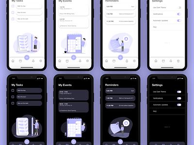 Teudeu App (UI/UX Design) designer app design illustrator graphic design illustration ux ui design