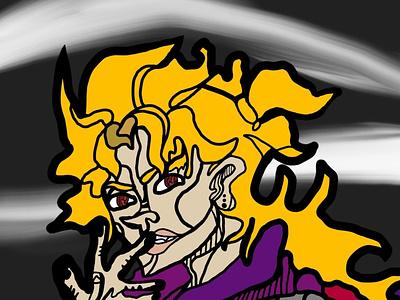 The Corrupted Orphan design illustration drawing digital art