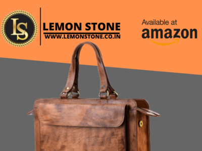 Leather Bags-Lemon Stone purse diaries backpack briefcase messenger bag