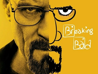 Bryan Cranston face downsign sam omo illustration design graphic breaking bad art actor film movie bryan cranston