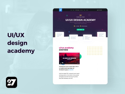 UI/UX Design Academy UI academy education ui online school ui academy ui