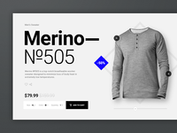 Merino №505 Product Page