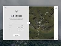 Kungsleden Hike 2016 - Hike Specs