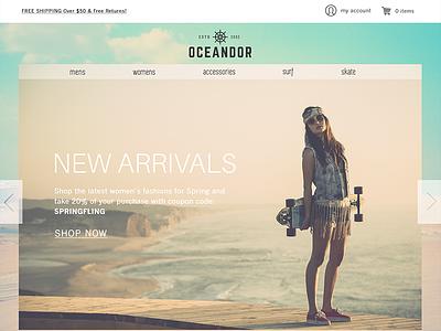 Website Concept designlab fashion web website