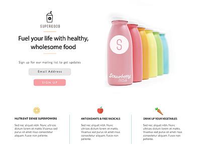 Designlab Assignment #1 design ui smoothie web designlab