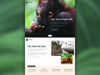 Pongo Palm-Oil Free Products Landing Page