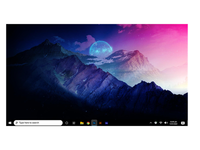 Windows 11 concept l(FOR ARTIST) design ux ui adobe photoshop graphicsdesign stylish procreate high resolution photoshop modern atractive