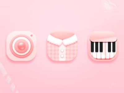 Candy Mood_icon theme pink mood jin music camera icon huawei girl candy android 2014