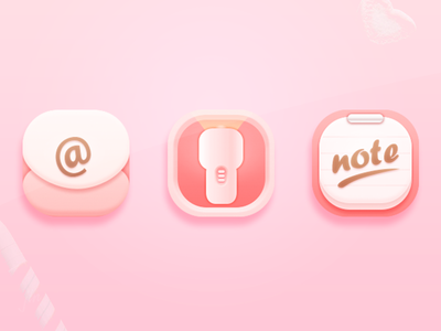 Candy Mood_icon jin note flashlight email mood candy icon theme 2014