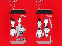Coca Cola Edición Limitada Copa América