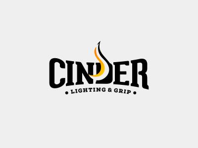 Cinder flame equipment grip lighting