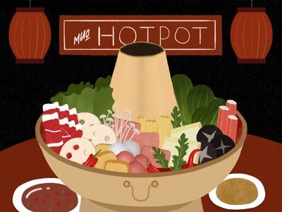 The daily meal-Chinese hotpot
