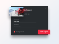 Day 001 - Sign Up - Daily UI