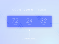 Day 014 - Countdown Timer - Daily UI