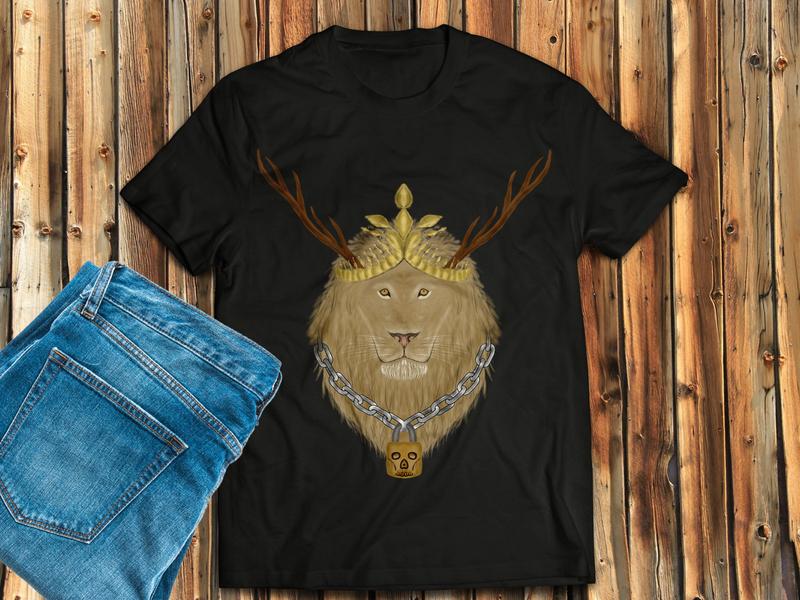 Lion t shirt t shirt art shirtdesign t shirts shirts shirt illustration design lion t shirt lion