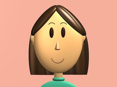 Avatar - Mona 3d design 3d avatar 3d avatar