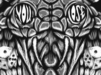 You Lose for sale band merch shirt shirt design merch merch design scratchboard illustration snake