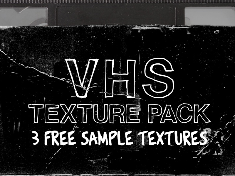 Free VHS Texture Pack by Timothy Swim on Dribbble