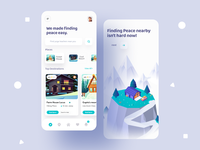 Search & Book Resorts Mobile Ui sanket pal figma free mobile ui kit booking ui kit booking app rent apartment house sanket top indian design agency indian app designer indian design studio indianpix mobile minimal simple clean find place app search mobile app search ui