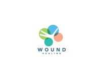 Wound healing logo