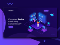 Customer Review Landing page Exploration