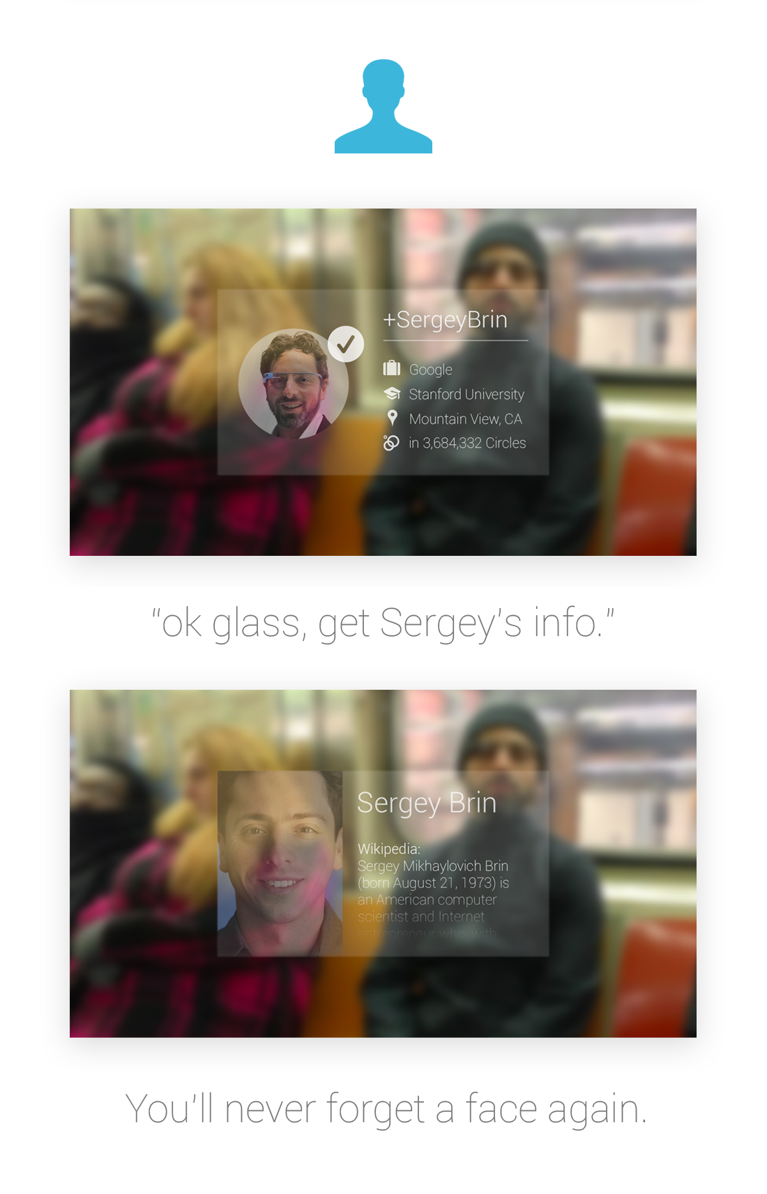 Google glass facial recognition full