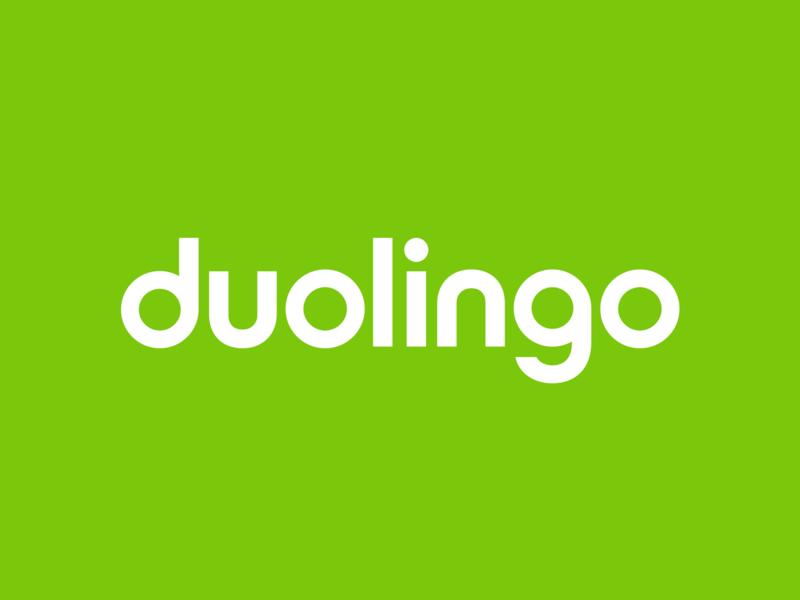 Duolingo Logo Update (2017) rebrand brand identity design branding design minimal geometric wordmark duolingo branding and identity branding logo