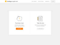 Duolingo English Test Homepage