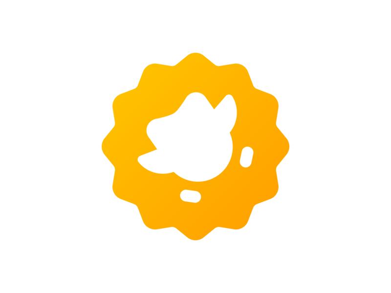 Duolingo English Test Logo minimal illustration geometric simple artificial intelligence ai app english test identity branding and identity branding icon mascot duo seal duolingo logo