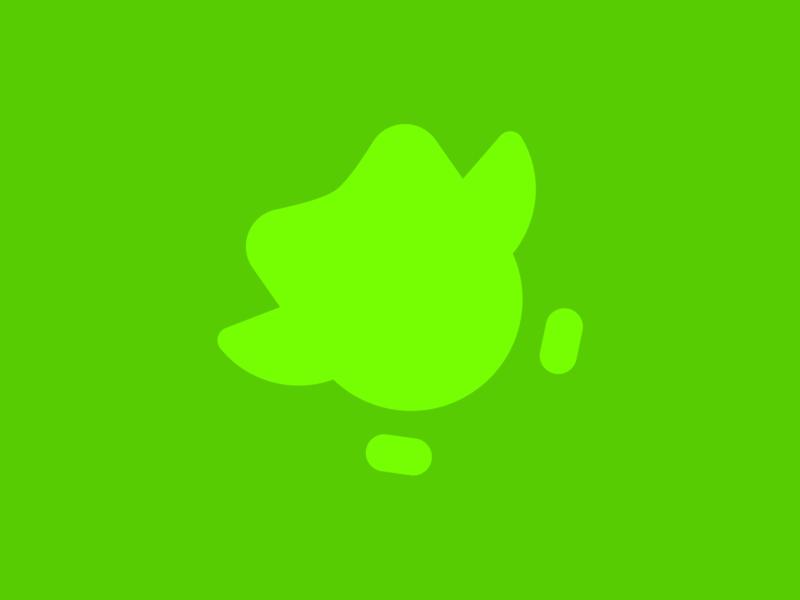 Duolingo Logo Glyph Color Exploration colorful illustration design identity icon brand duolingo geometric brand identity minimal logotype colors branding logo