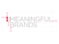 Meaningful brands logo grid