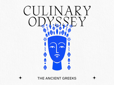 The Ancient Greeks greek statue statue animation motion design greeting card portrait illustration kommigraphics cycladic portrait blue culinary odyssey tea goddess greece
