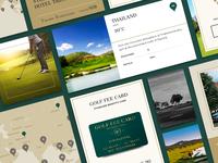 Golf Fee Card