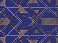 Blue/Gold pattern