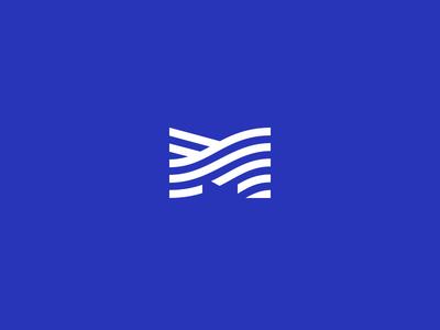 M symbol kode logo branding logo design design kommigraphics