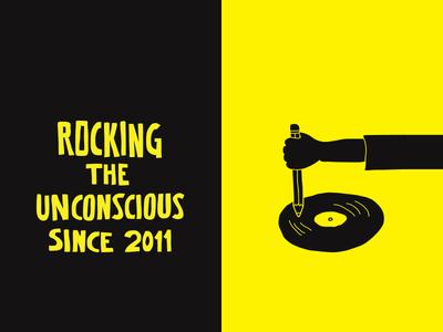 Rocking the unconscious greece athens branding illustration design kommigraphics