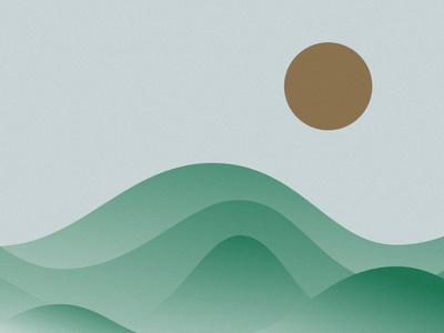 Fields greece illustration design kommigraphics