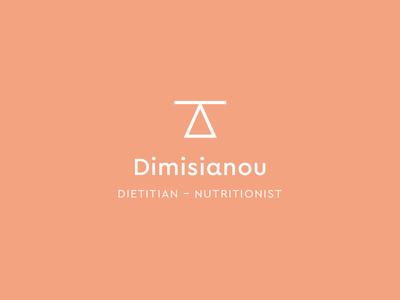 Nutritionist logo logomark dietitian nutritionist branding logo design design kommigraphics