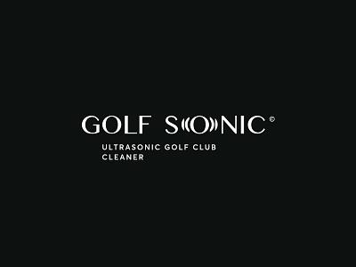 Golf Sonic logo branding logo design logo studio design kommigraphics
