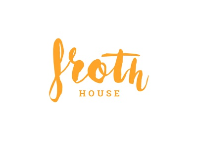 Froth House design coffee web