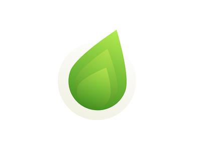 Client Logo Concept energy eco gradients branding icon logo