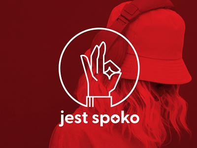 Jest Spoko Clothing Application premium design minimalist logo minimal shopping app clean ui branding clean design ui fashion app fashion design fashion brand brand identity