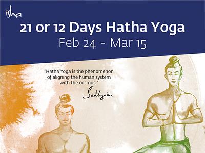 12 Day Hatha layout design