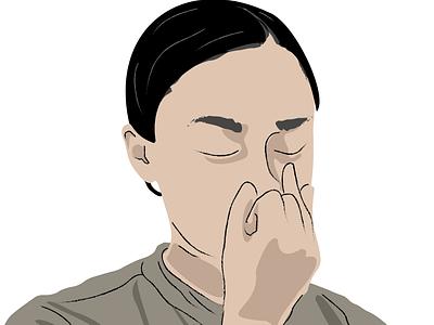 Meditator illustration