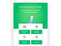 Emailer design for Chillr