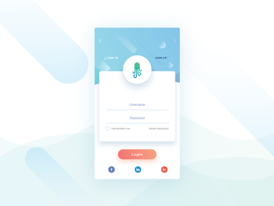 Sign up page Exploration