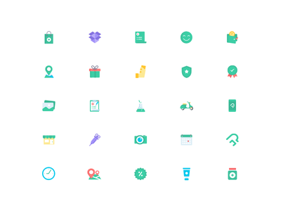 Medical Icon Set 2 vector logo icon illustration mobile camera lab gift map scooter ux ui app colorful icon minimal flat icon doctor medicine medical